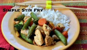 simple stir fry