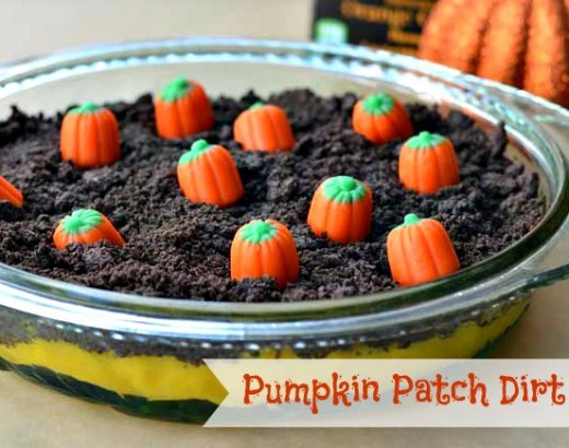 Pumpkin Patch Dirt Cake