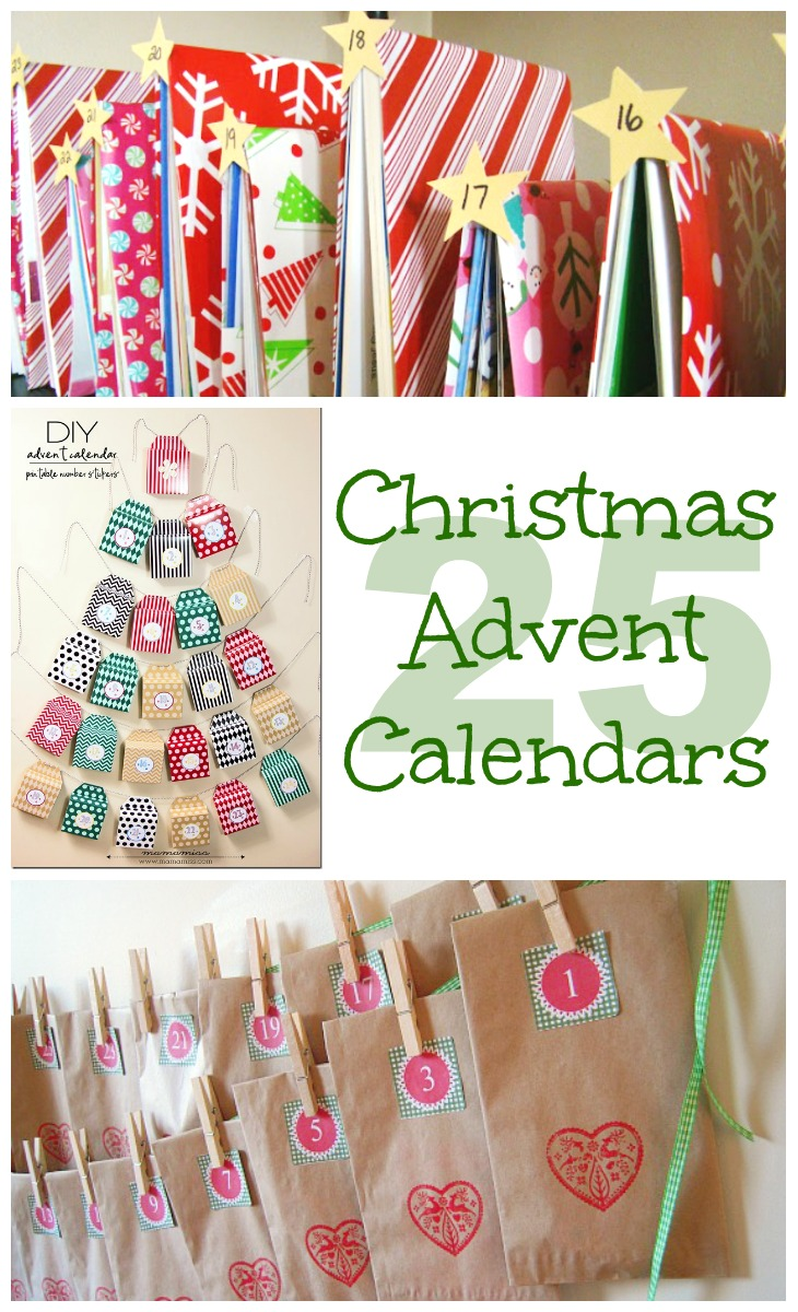 25 Christmas Advent Calendars
