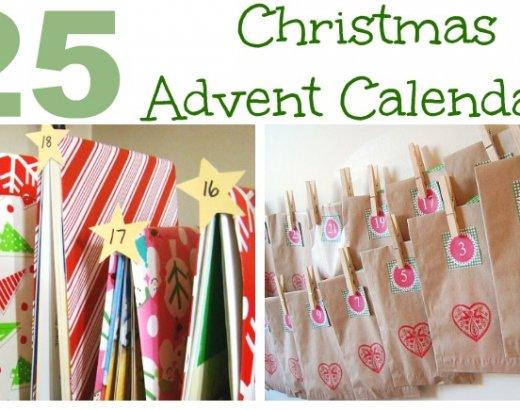 25 Advent Calendar Ideas and Printables