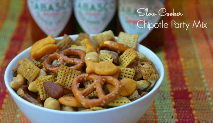 Slow Cooker Chipotle Party Mix