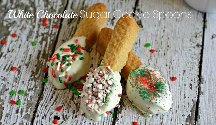 sugar cookie spoons