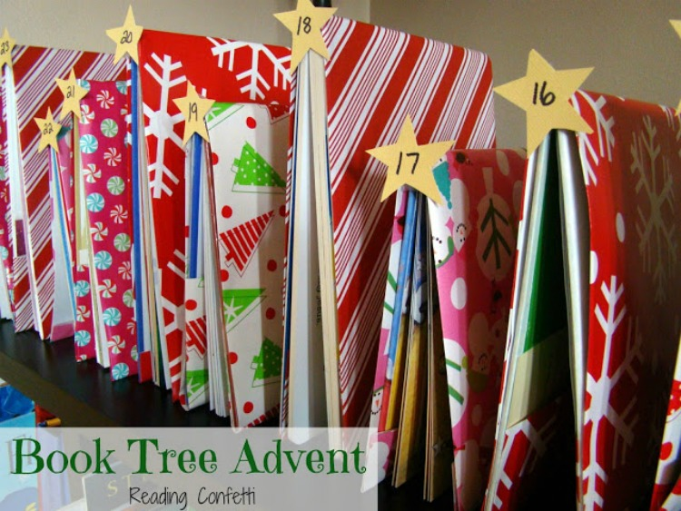 book tree advent 3