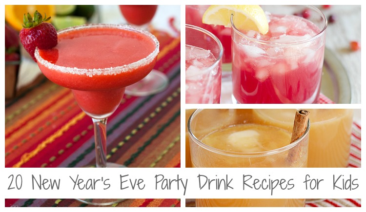 20 new years eve party drink recipes for kids featured image