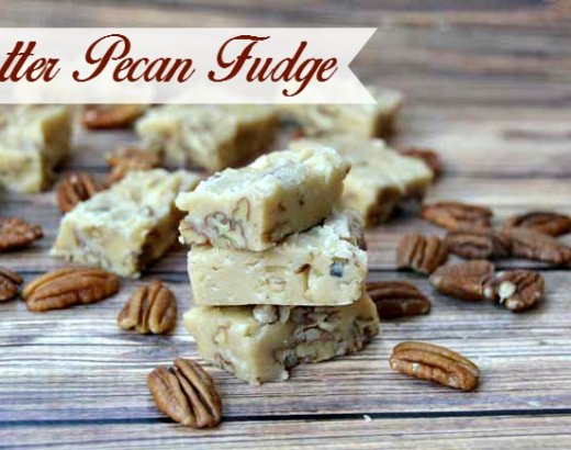 Butter Pecan Fudge Recipe