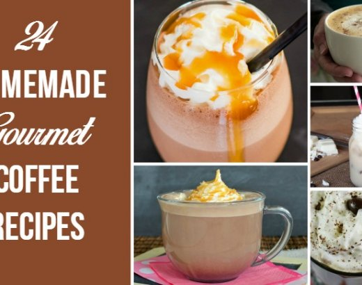 24 Homemade Gourmet Coffee Recipes