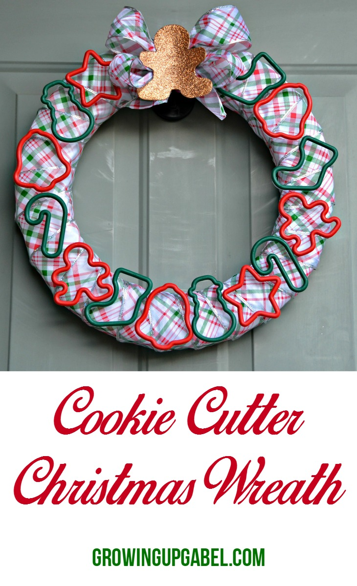 Cookie Cutter Christmas Wreath by Growing Up Gabel