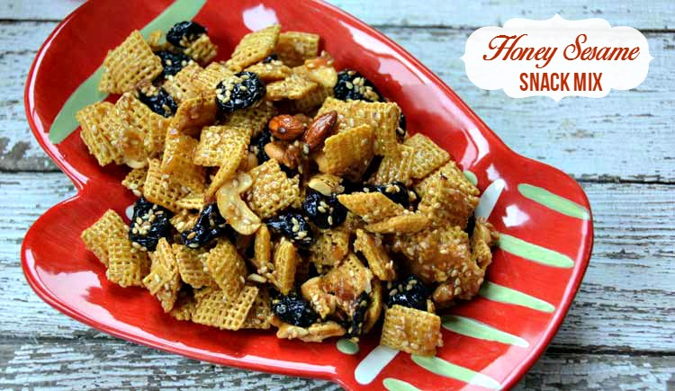 Honey Sesame Snack Mix
