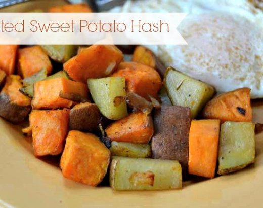 Roasted Sweet Potato Hash Recipe for Healthy Eating
