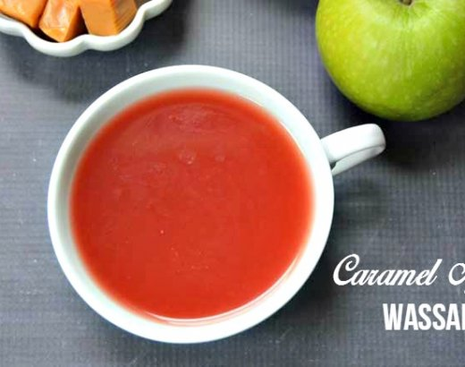 Caramel Apple Wassail Recipe with Essential Oils