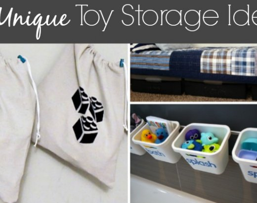 20 Unique Toy Storage Ideas