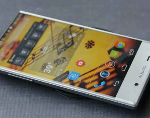 A Sleek Family Cell Phone: the Sony Aquos Crystal Smartphone