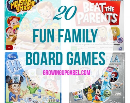 20 of the Best Family Board Games