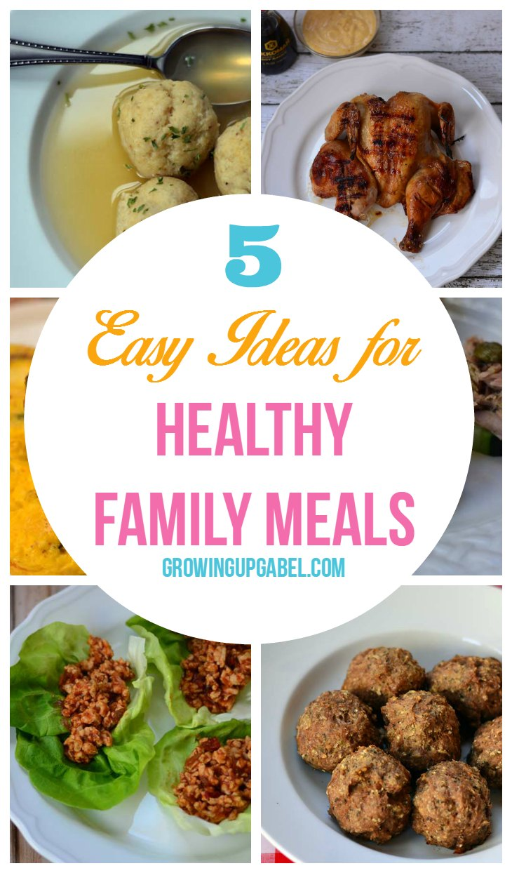 5 Easy Makeup Looks In Under 10 Minutes: 5 Easy Ideas For Healthy Family Meals