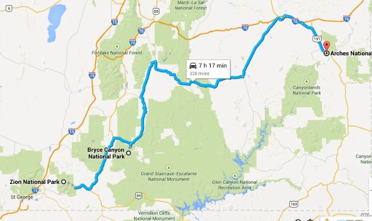 National-Parks-Route-Map