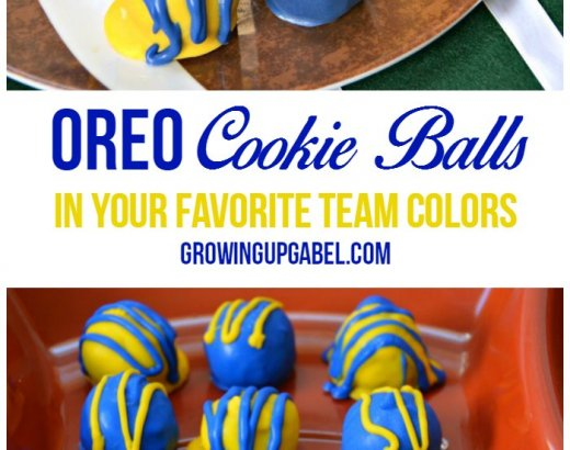 OREO Cookie Balls Recipe in Your Favorite Team Colors