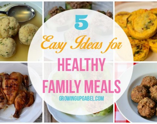 5 Easy Ideas for Healthy Family Meals