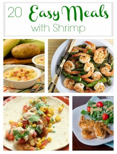 20 Easy Meals with Shrimp