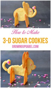 How to Make A 3-D Cookie Recipe