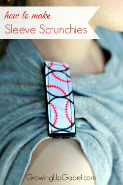 How to Make Sleeve Scrunches for Athletes