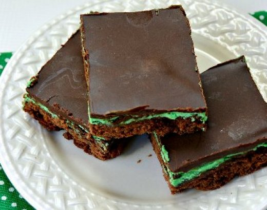 Mint Chocolate Brownies Recipe