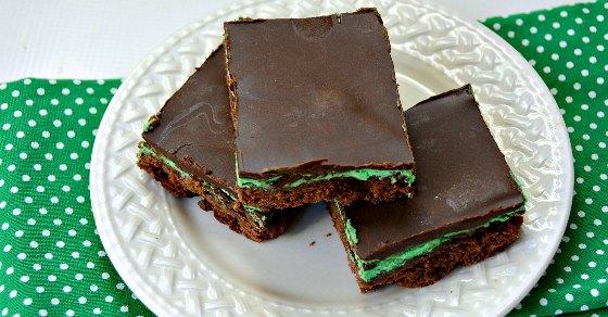 Mint Chocolate Brownies Recipe