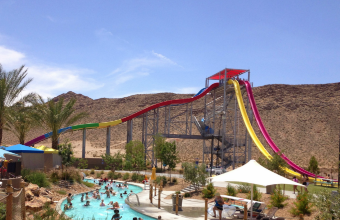 Wet N Wild Water Slide
