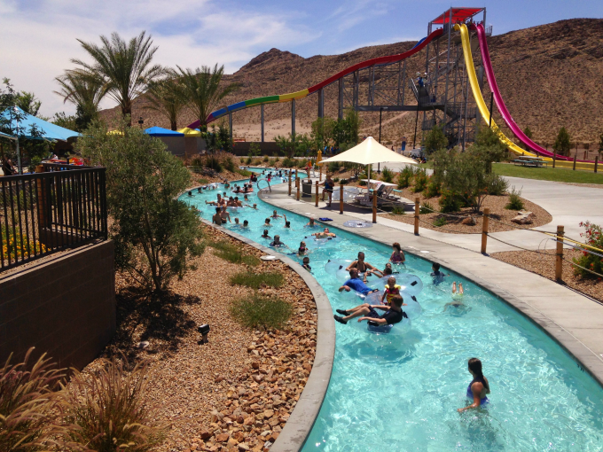 Wet and Wild Las Vegas Lazy River