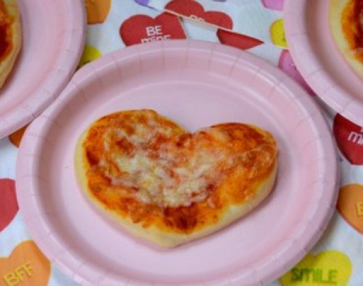 Easy Heart Shape Pizza Recipe
