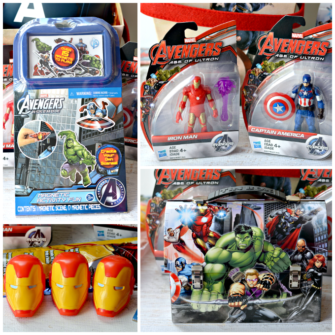 Easter basket ideas for boys marvel avengers avengers easter basket negle Choice Image
