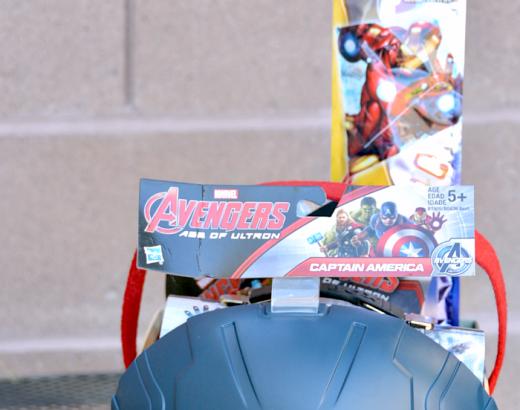 Easter Basket Ideas for Boys: Marvel Avengers