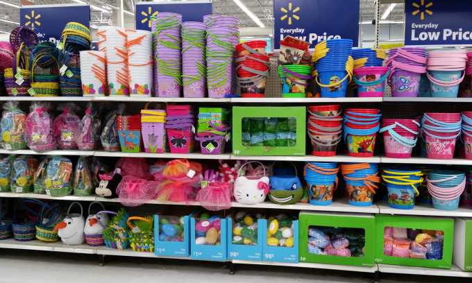 Easter at Walmart