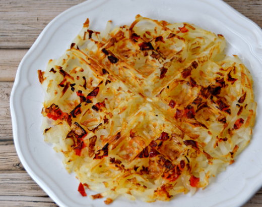 How To Cook Hash Browns in a Waffle Maker