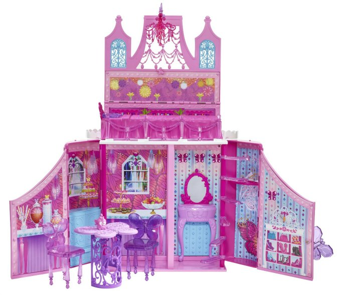 Barbie Mariposa Fairy House