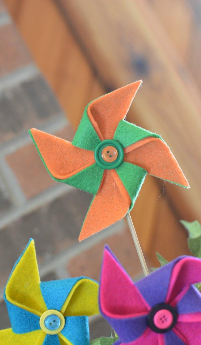 Felt Pinwheel