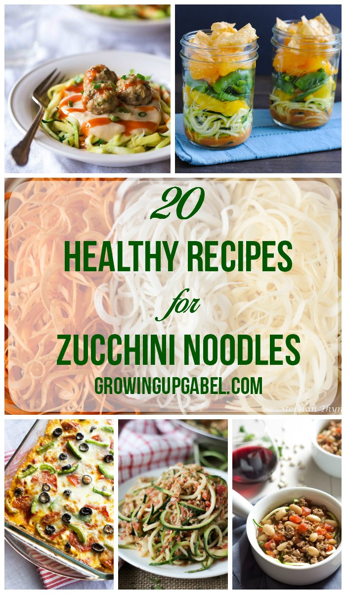 Use up summer's bounty with these fun zucchini recipes! Turn zucchini in to noodles and make one of these recipes - from salads to casseroles - you are sure to find a few to love.