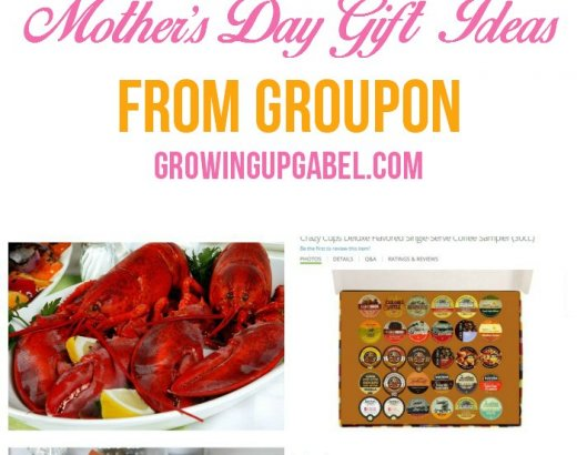 5 Fun Gifts for Mother's Day from Groupon
