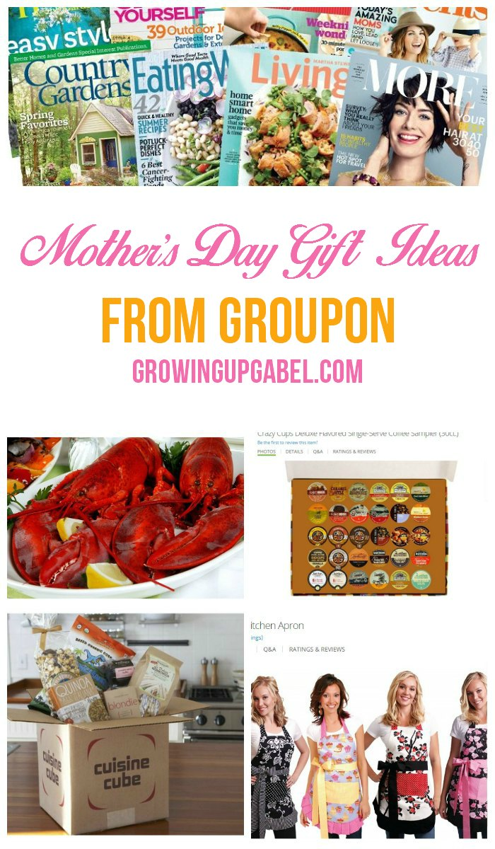 Mother's Day Gift Ideas from Groupon