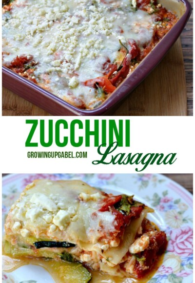 Looking for a healthy lasagna recipe? Make an easy vegetable lasagna with zucchini noodles.