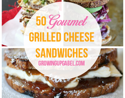 50 Gourmet Grilled Cheese Sandwiches