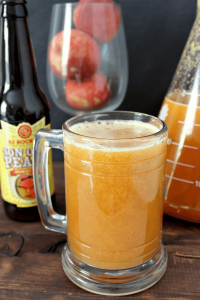 Looking for the perfect summer drink? How about beer cocktails? Try this surprisingly delicious Peach Beermosa. Beer is mixed with either fresh or frozen peaches for a truly unique summer drink.