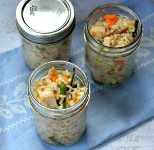 10 Minute Rice Salad Recipe