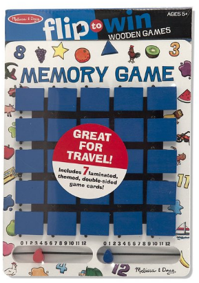 Amazon.com Melissa Doug Travel Memory Game Game Toys Games