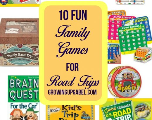 10 Fun Road Trip Games for Family Road Trips