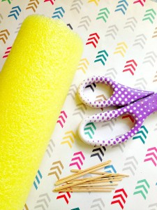 Pool Noodle Crafts: Sail Boat