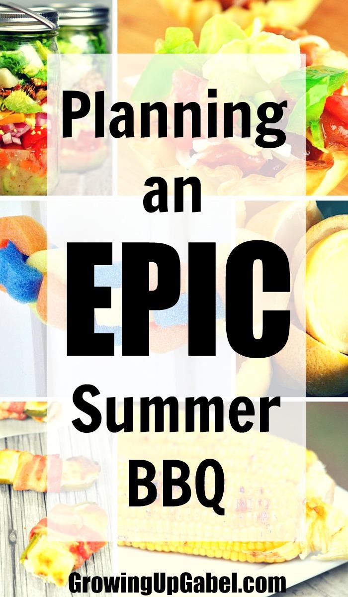 planning an epic summer bbq