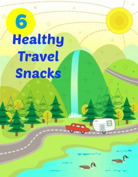 Need snacks for traveling this summer? Check out these 6 healthy snack ideas that are great for kids and adults alike. These snacks can be store bought or even made in your own kitchen for an inexpensive and easy alternative to fast food drive thrus!