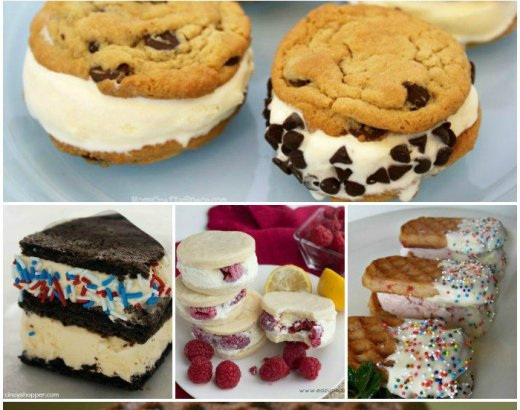 25 Ice Cream Sandwiches To Make With Your Kids