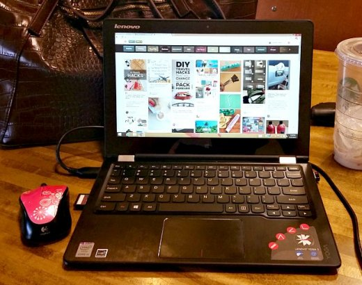 On the Go with the Lenovo Yoga 3