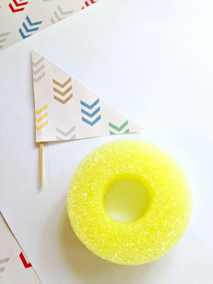 Pool Noodle Craft boats